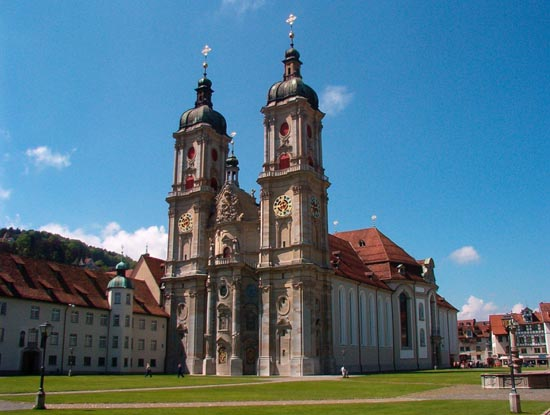 abbey of saint gall historical facts and pictures the history hub. Black Bedroom Furniture Sets. Home Design Ideas