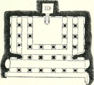 Badami Cave Temple Plan