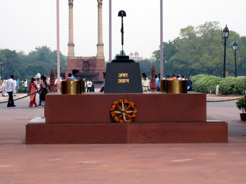 India gate amar jawan jyoti the history hub india gate amar jawan jyoti altavistaventures Choice Image