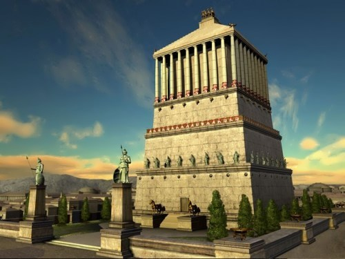 Mausoleum at Halicarnassus Historical Facts and Pictures ...