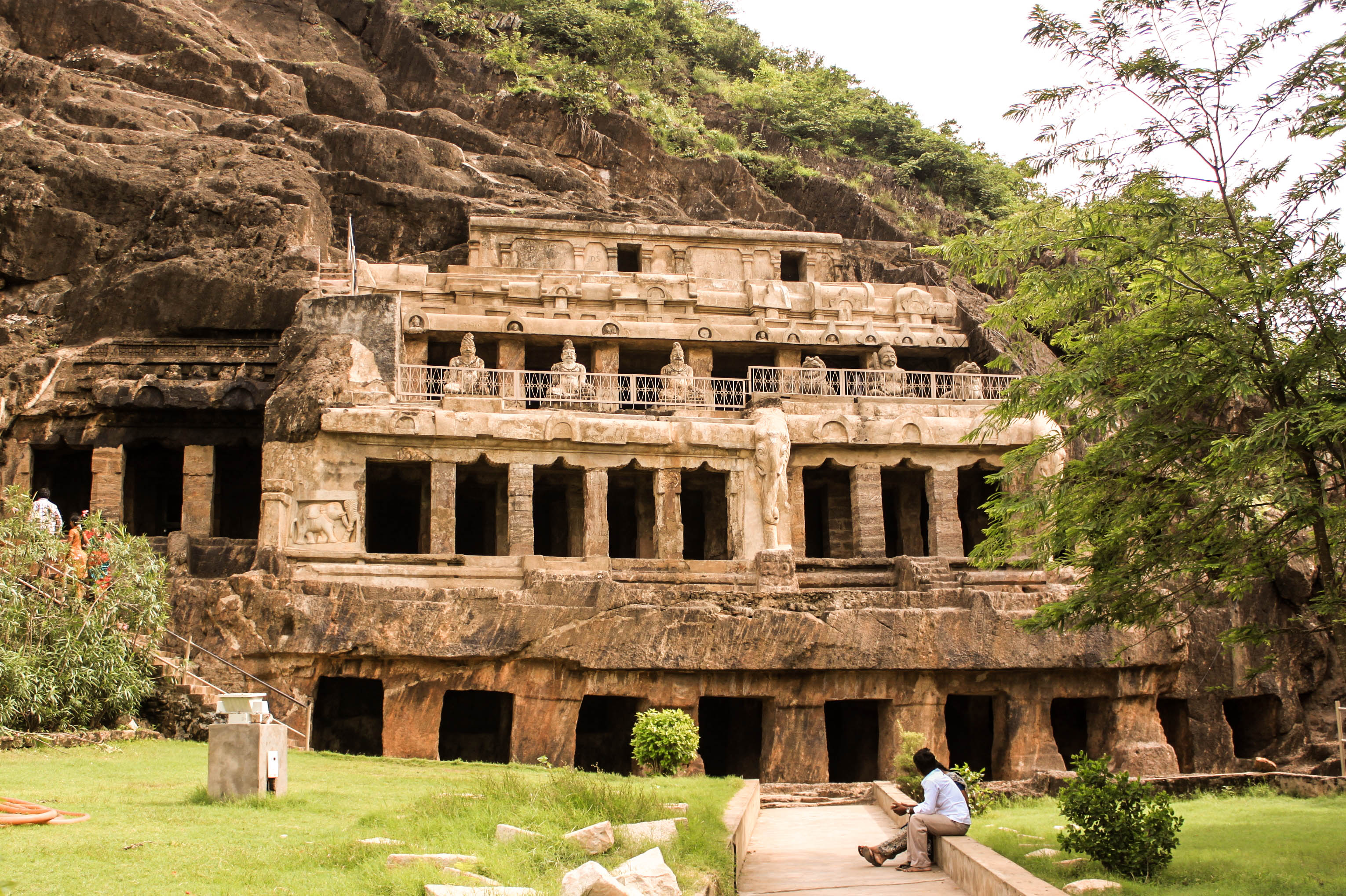undavalli caves historical facts and pictures the history hub